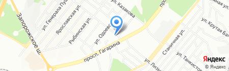 Caramel на карте Днепропетровска