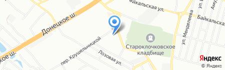 Нотаріуси Дерев`янко О.К. і Мартиненко Н.Ю. на карте Днепропетровска
