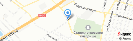 Базиль на карте Днепропетровска