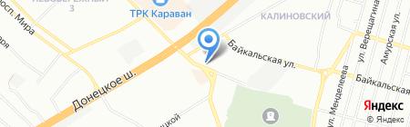 Грация на карте Днепропетровска