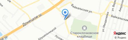 Ваш карниз на карте Днепропетровска