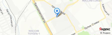 ТАВРИЯ на карте Днепропетровска