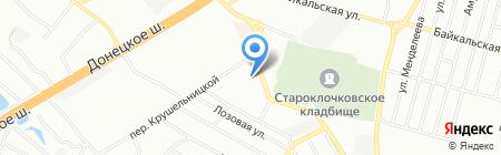 RAMA на карте Днепропетровска