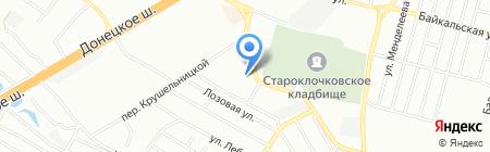 Времена года на карте Днепропетровска