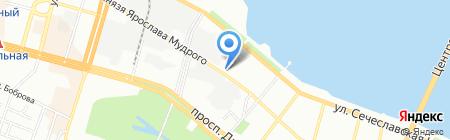 Советник на карте Днепропетровска
