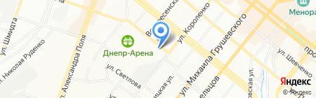 RECOM на карте Днепропетровска