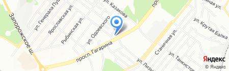Риба на карте Днепропетровска