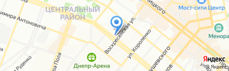 Сан Марко на карте Днепропетровска