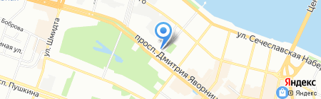 СПОРТЛІГА на карте Днепропетровска