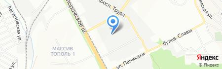 Биосфера на карте Днепропетровска