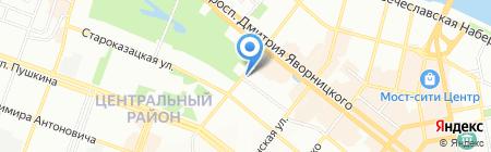 Арт-Сервис на карте Днепропетровска