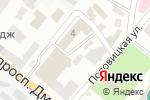 Схема проезда до компании Блиц-Контакт в Днепре