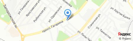 Рецептіка на карте Днепропетровска