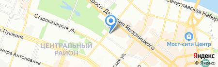 Landman на карте Днепропетровска