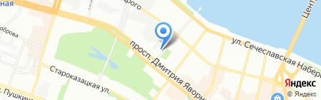 Гала-Тур на карте Днепропетровска