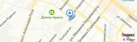 ASmirnova на карте Днепропетровска