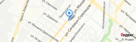 Укрстройкомплект на карте Днепропетровска