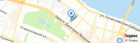 L`Orangerie на карте Днепропетровска