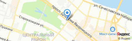 La Famiglia на карте Днепропетровска