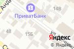 Схема проезда до компании Нотариус Шаулова М.А. в Днепре