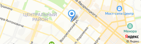 Ведомед на карте Днепропетровска