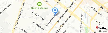 NickMebel на карте Днепропетровска