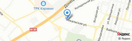 Грааль на карте Днепропетровска
