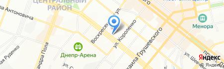 Золотое сечение на карте Днепропетровска