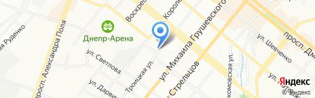 Альф на карте Днепропетровска