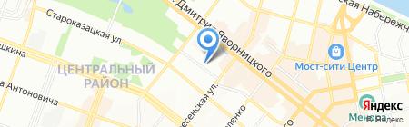 Рената на карте Днепропетровска