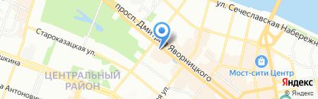 Super Tour на карте Днепропетровска