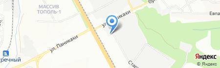 Агромашинвест на карте Днепропетровска