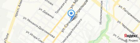 Мастер-авторитет на карте Днепропетровска