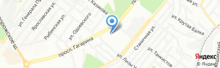 Принтсервис ЧП на карте Днепропетровска