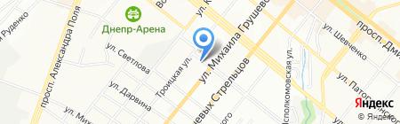 Samsung на карте Днепропетровска