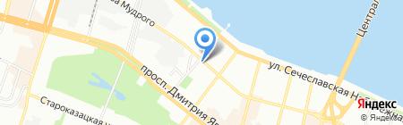 Виола на карте Днепропетровска