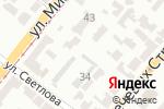 Схема проезда до компании Старый Жестянщик в Днепре