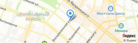 Oasis на карте Днепропетровска
