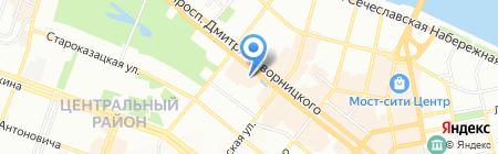 Союз-Недвижимость на карте Днепропетровска