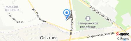Термінал самообслуговування Банк Національний Кредит на карте Днепропетровска