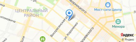 Студія зачіски на карте Днепропетровска