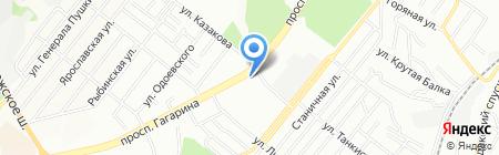Элика на карте Днепропетровска