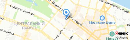 Городской информационно-аналитический центр на карте Днепропетровска