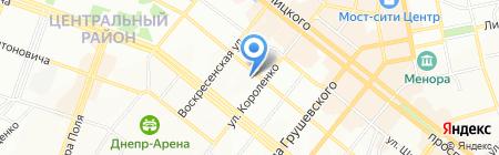 DECOR CLUB на карте Днепропетровска