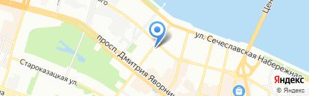 Темп на карте Днепропетровска