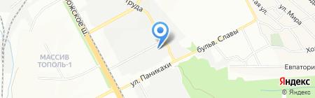 Инвартехинвест на карте Днепропетровска
