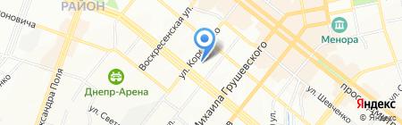 OZON на карте Днепропетровска