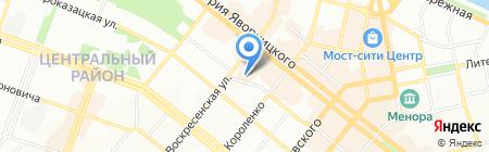 САЙ на карте Днепропетровска