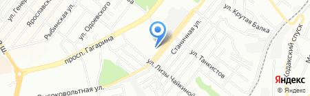 ЕВРОТЕХНИКА на карте Днепропетровска