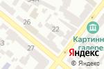 Схема проезда до компании Студия-школа Миланы Новиковой в Днепре